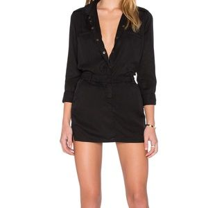 Dresses & Skirts - Etienne marcel black mini dress NWT